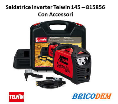 Saldatrice inverter Telwin Force 145 815856