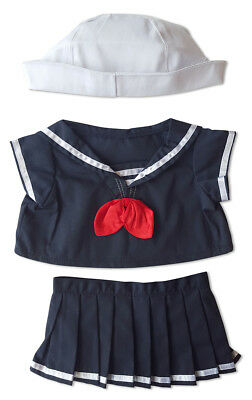 """18/"""" Build-A-Bear and Sailor Boy w//Hat Outfit Teddy Bear Clothes Fits Most 14/"""""""