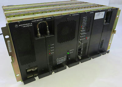 Motorola Quantar T5365A 800MHz Base Station Repeater W/ Modules & Power Supply