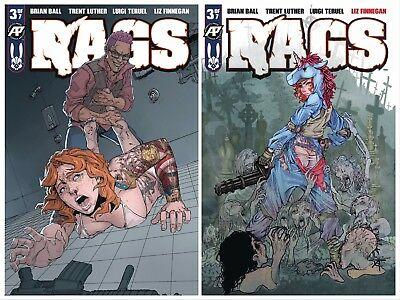 Rags #3 Cover A & B Exposed Variant Antarctic Press