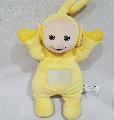 TELETUBBIES LALA YELLOW Soft Toy plush music and lights night light ... 1ee20839e1da