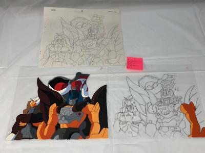 Transformers Japanese Beast Wars 2 Ii Lio Junior Team Animation Art Cell Lot 242