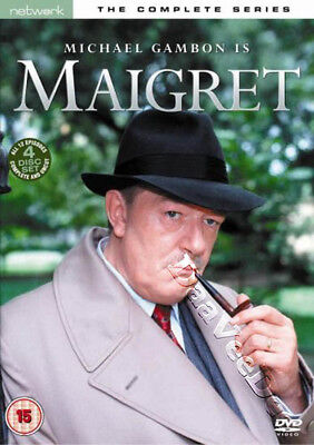 Maigret - Complete Series NEW PAL Cult 4-DVD Set Michael Gambon Ciaran Madden