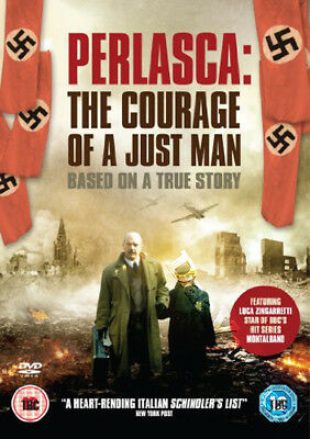Perlasca: The Courage of a Just Man NEW PAL Series DVD A. Negrin Luca Zingaretti