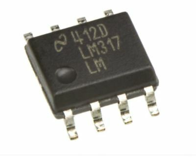 12x Regulateur de tension ajustable LM317LM SOIC-8 : NEUF