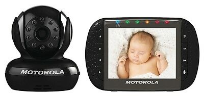 Motorola MBP36-B2 Remote Wireless Baby Monitor w/ 3.5-Inch Color LCD Screen