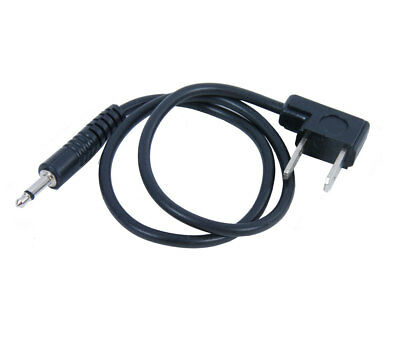 """3.5mm Plug to Household Flash PC Sync Cord Cable 16"""" 16 inch Studio Photography"""
