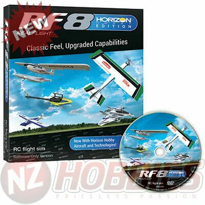 RealFlight 8 Software Only RFL1001 Horizon Hobby Edition