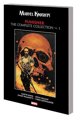 Marvel Knights Punisher By Ennis Complete Collection Tp Vol 12/12/18
