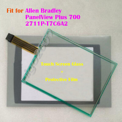 Screen Panel + Protective Film for Allen Bradley PanelView Plus 700 2711P-T7C6A2
