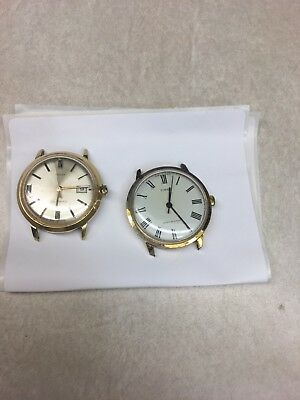 Vintage watch lot of 2 Men's Timex watches MECHANICAL Hand Wing and Self Wind