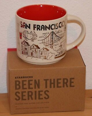 Starbucks Tasse Mug Been There San Francisco Silber - Neu!
