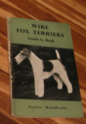 1960 Wire Fox Terriers by Linda Beak,Vintage Wire Fox Terrier book