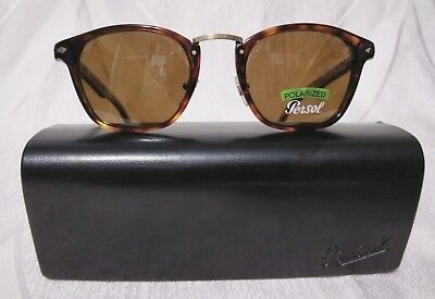 6e1c9f28f49be PERSOL Sunglasses Typewriter Edition 3110-S 24 57 Havana Tortoise Brown
