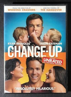 The Change Up Dvd 2011 Rated Unrated