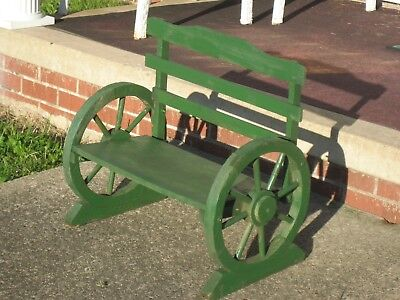 """OLD 21""""X 20"""" ANTIQUE SOLID WOOD ! Garden Plant Stand Doll Bench Vintage PLANTER"""