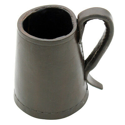 Tudor Medieval Renaissance Tankard Leather Dining Hall Drinking Vessel Mug Cup
