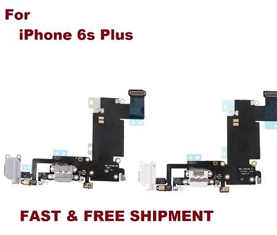 White/Black Headphone Dock Connector Charging USB Port Flex Cable iPhone 6S Plus
