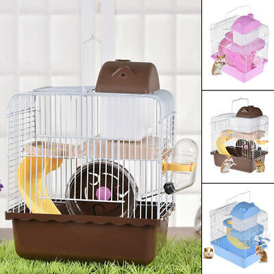 2018 Small Animal Rabbit Mice Chinchilla Guinea Pig Hamster House Pet Cage 1x