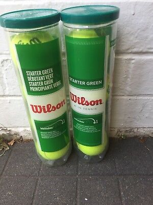 Wilson Tennis Starter Green Balls Stage 1 Great Condition Pick up available
