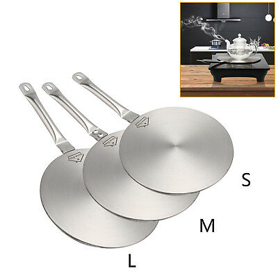 AH Induction Hob Converter 19cm/23cm Disc Heat Diffuser Gas or Electric Cookers