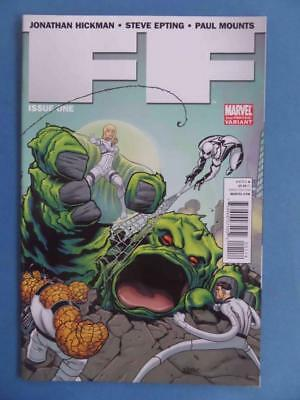 Ff 1 2Nd Printing Variant Marvel Now Unread Nm! Rare!