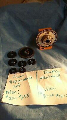 Emco compact 5 Parts And Attachments lot of 10 items