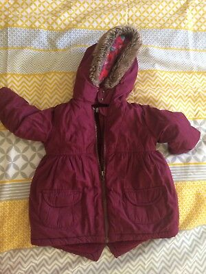 Bows and Arrows Girls Coat Age 9-12 Months