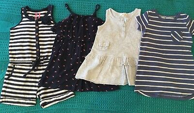 Girls Size 1 Dress/Playsuit Bundle Cotton On Kids Seed Heritage H&T