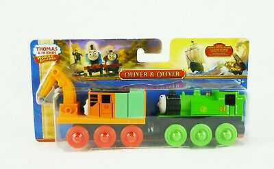 Thomas & Friends Wooden Railway Oliver & Oliver Fisher Price CDK37