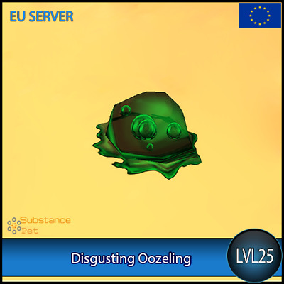 Disgusting Oozeling lvl25 Pet | All Europe Server | WoW Warcraft