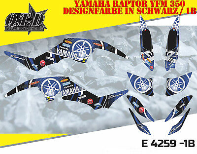Motostyle-Mx Dekor Kit Atv Yamaha Raptor Yfm 350 Graphic Kit E4259 B
