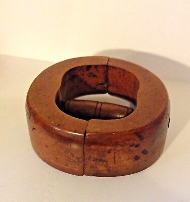 Vintage Wooden Hat Stretcher 6 7/8 Size Millinery Form Shaper