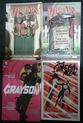 Assorted Graphic novels by Tom King (HC/TPB)