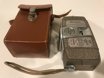 Vintage Revere Eight Model 55 Movie Camera 8mm  With Case