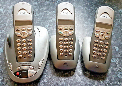 Bt Synergy 3505 Dect Triple Cordless Telephone & Answering Machine