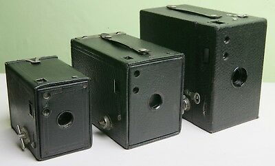 Kodak Box Camera Family - Great Display Piece