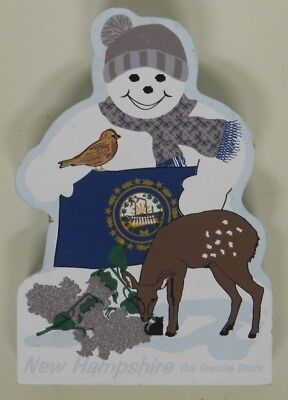The Cat's Meow, New Hampshire Snowman, 2003, Faline, The Granite State
