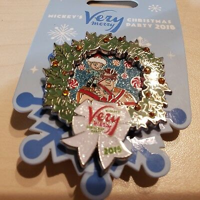 Disney Mickey's Very Merry Christmas Party 2018 Pin Wreck it Ralph Vanellope LE