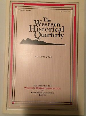 Book:  The Western Historical Quarterly Autumn 2003 Native American Subjects