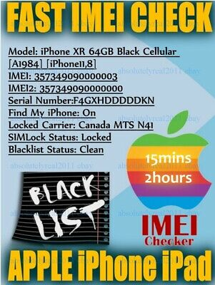 iPhone IMEI Check Carrier Model SIMLOCK Find My Iphone Status Checker