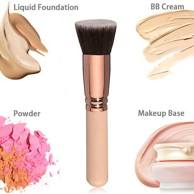 Face Powder Blush Brush Liquid Buffer Foundation Makeup Cosmetic Contour Tool