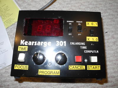 Kearsarge Model 301 Darkroom timer with box and instructions - Free Shipping