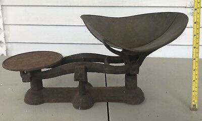 Vintage Cast Iron Candy Scale Counter Kitchen Scale & Scoop