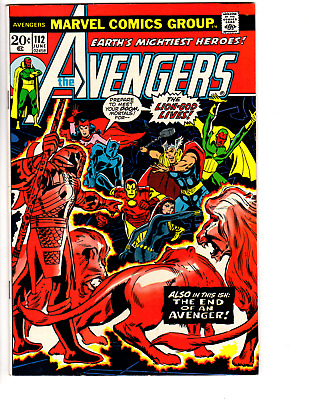 Avengers # 112 (VF 8.0) First appearance of Mantis - Higher Grade