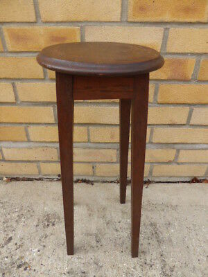 Vintage Plant/hall Stand,tall Wooden Pot,vase,jardiniere,antique