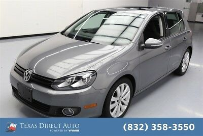 2012 Volkswagen Golf TDI Texas Direct Auto 2012 TDI Used Turbo 2L I4 16V Automatic FWD Hatchback Premium