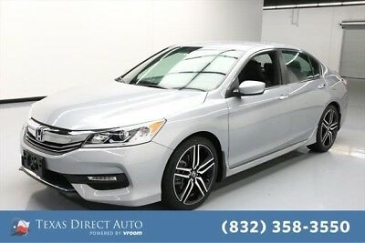 2017 Honda Accord Sport SE Texas Direct Auto 2017 Sport SE Used 2.4L I4 16V Automatic FWD Sedan