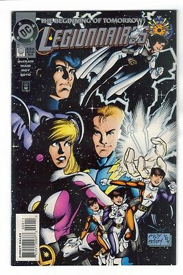 Legionnaires #0 1st appearance of XS daughter on Flash CW show DC Comics