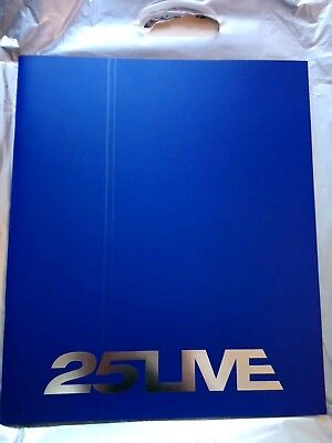 George Michael 25 live tour book 2006 Mint